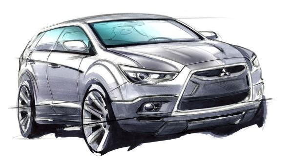 2010 Mitsubishi Outlander GT Sketch