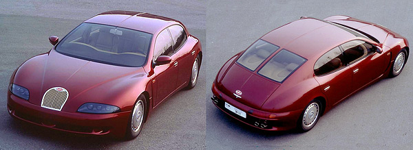 1993 год, концепт Bugatti EB 112