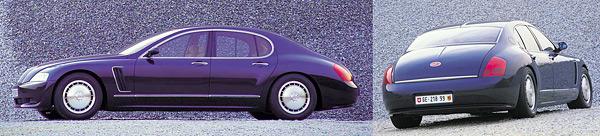 1999 год, концепт Bugatti EB 218