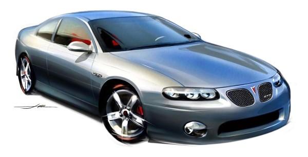 2004 Pontiac GTO Sketch