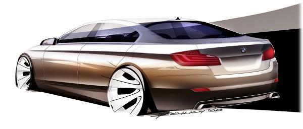 2011 BMW 5-Series, рисунок