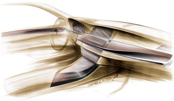 2011 BMW 5-Series, рисунок интерьер