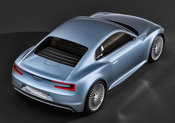 2010 Audi e-tron Detroit Showcar концепт