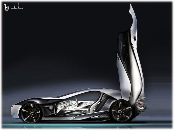 2010 Alfa Romeo Pandion Concept Sketch