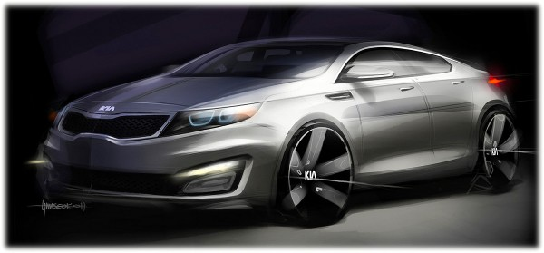 2011 Kia Optima - Magentis Sketch