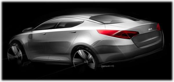 2011 Kia Optima - Magentis Sketch