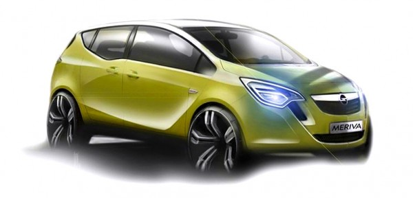 2011 Opel Meriva