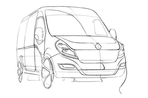 2010 Renault Master - Дизайн автобуса