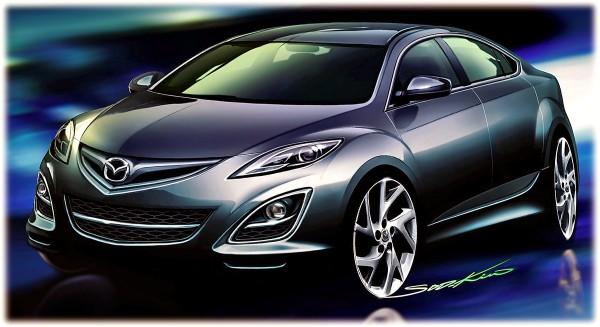 2009 Mazda 6 - Рисунок автомобиля бизнес класса
