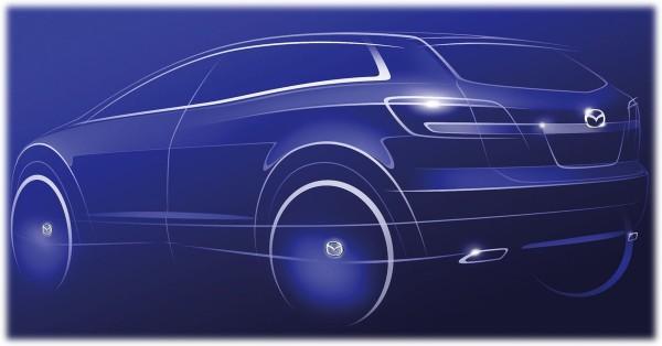 2009 Mazda CX9 - новый дизайн для большого кроссовера Мазда