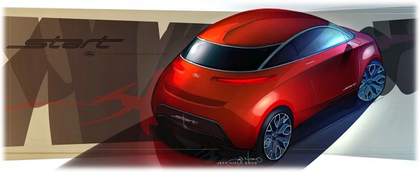 2010 Ford Start Concept - Концепт Авто Дизайн