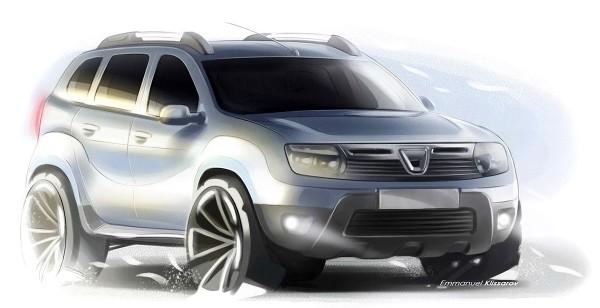 2011 Dacia Duster - современный дизайн внедорожника