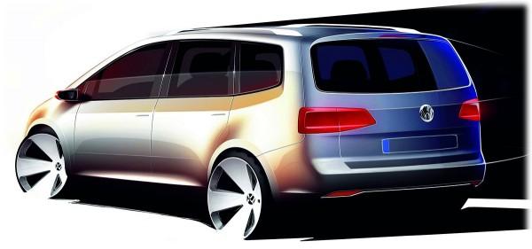 2011 Volkswagen Touran - Минивен, скетчи