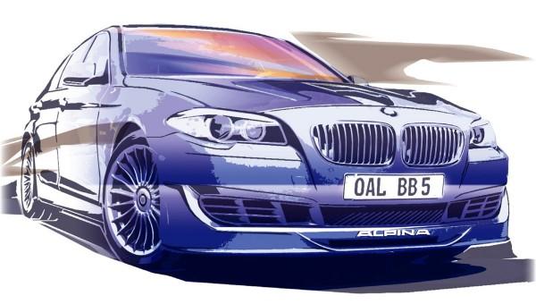 2011 BMW Alpina B5 Bi-Turbo Sketch