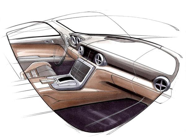 2012 Mercedes-Benz SLK-Class Interior