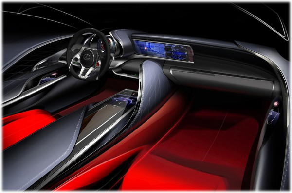 2011 Lexus LF-LC Concept - sketch