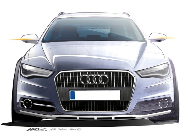 2012 Audi A6 allroad quattro - sketch