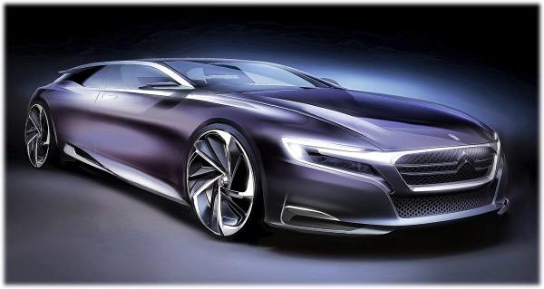 2012 Citroen Numero 9 Concept - sketch