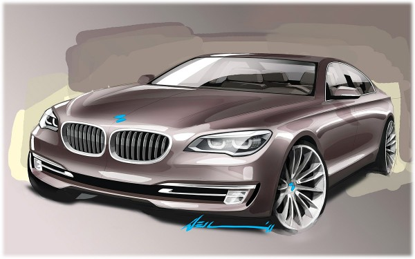 2012 BMW 7-Series - sketch