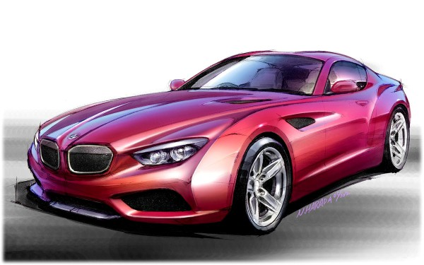 2012 BMW Zagato Coupe - sketch