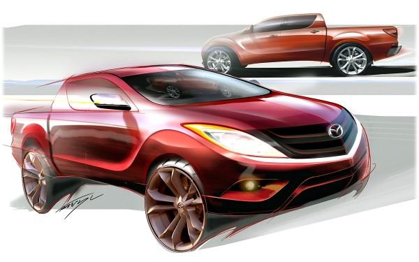 2012 Mazda BT-50 - sketch