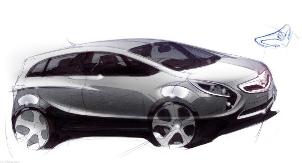 2012 Opel Zafira Tourer - sketch