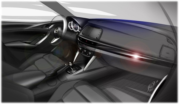 2013 Mazda CX-5 - sketch
