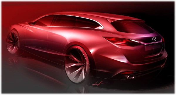 2013 Mazda 6 Wagon - sketch