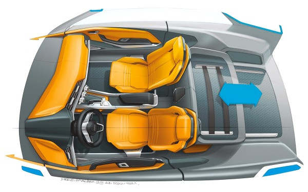 2012 Audi Crosslane Coupe Concept - sketch