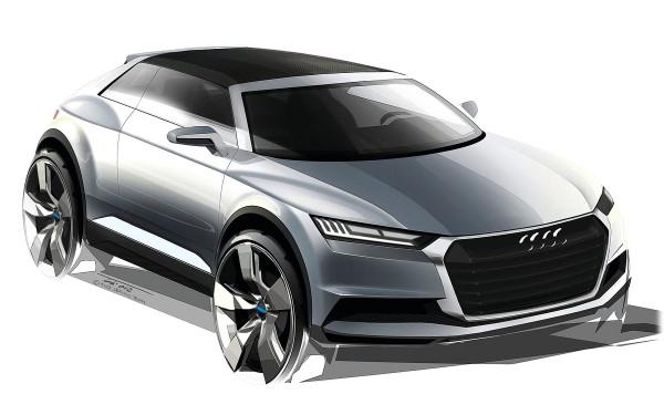 2012 Audi Crosslane Coupe Concept - дизайн Ауди