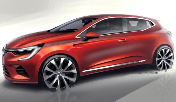 2020 Renault Clio - Sketch