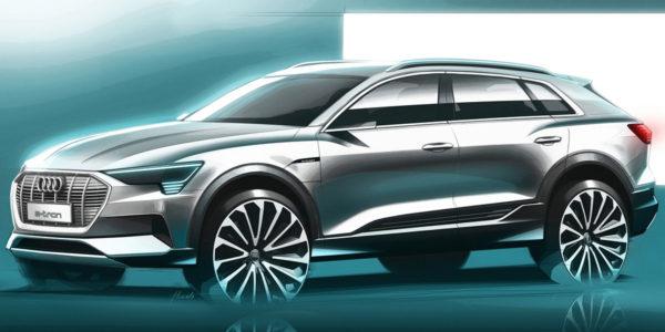 2020 Audi e-tron - Sketch