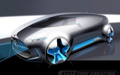 Рисунок автомобиля Mercedes-Benz Vision Tokyo Concept 2015