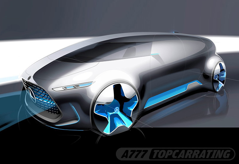 Рисунок автомобиля Mercedes-Benz Vision Tokyo Concept — 2015