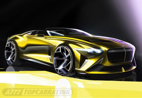 Рисунок автомобиля Bentley Mulliner Bacalar 2021