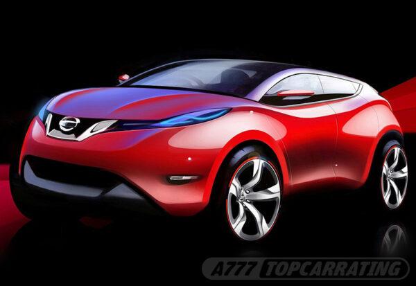 Рисунок автомобиля Nissan Qashqai 2014