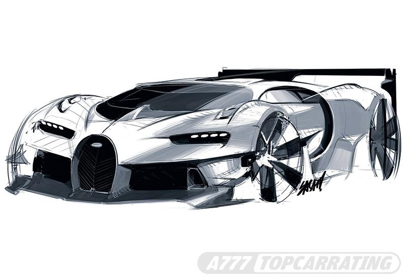 Bugatti Vision Gran Turismo Concept — 2016