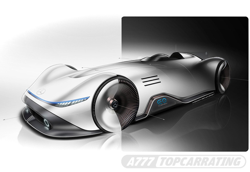 Mercedes-Benz Vision EQ Silver Arrow Concept — 2018