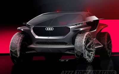 Рисунок автомобиля Audi AI:TRAIL quattro Concept 2019
