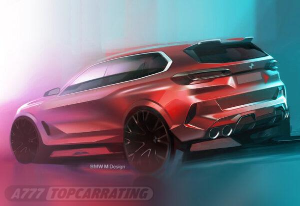 Рисунок автомобиля BMW X5 M Competition (F85) 2020