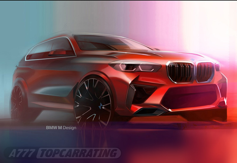 Рисунок БМВ — BMW X5 M Competition (F85) 2020