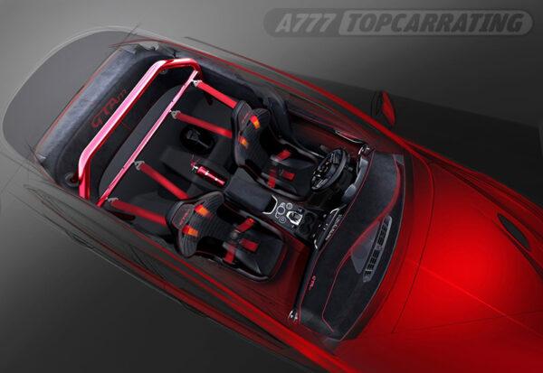 Рисунок автомобиля Alfa Romeo Giulia GTAm (952) 2021