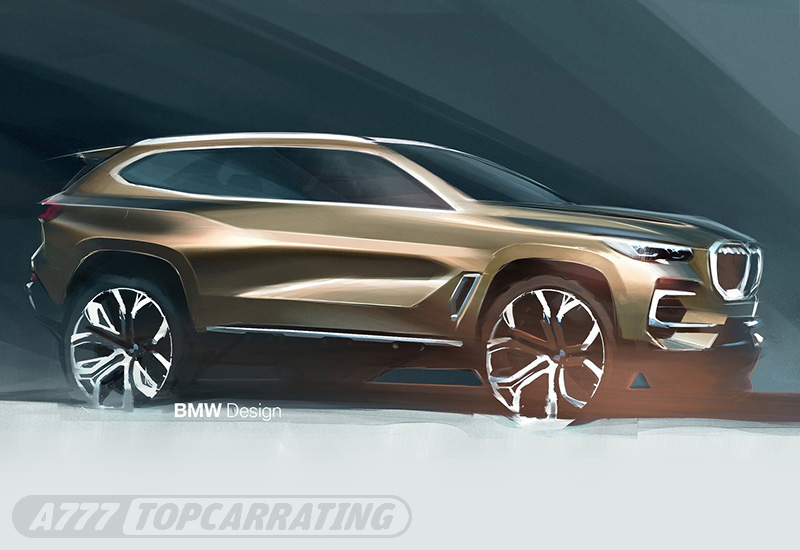 Рисунок автомобиля BMW X5 — 2019